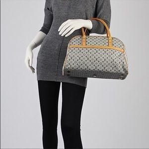 - Louis Vuitton Marie Mini Lin Boston Blue Bag